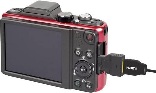 HDMI átalakító adapter, 1x micro HDMI D dugó - 1x mini HDMI C aljzat, aranyozott, fekete, ARC, SpeaKa Professional