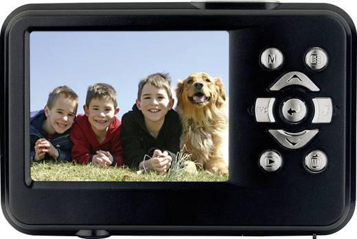 Digitális fényképezőgép, fekete, Rollei Compactline 52