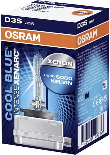 OSRAM Xenon fényforrás, XENARC COOL BLUE INTENSE DS3 42 V 12 V85 V (Ø x H) 9 mm x 80 mm