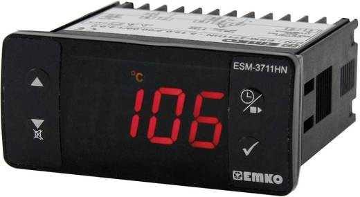 Hőmérséklet szabályozó, Pt100, relés, 10 A, Emko ESM-3711-H.5.11.0.1/00.00/1.0.0.0