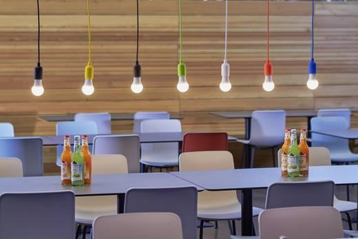 Függő lámpa, E27, 60W, narancssárga, Renkforce HG-024A