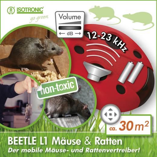 Hordozható egér- és patkányriasztó, Isotronic Beetle L1 70500
