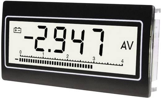 Digitális panelműszer, panelméter 0,1 mV - 300 V/DC/AC TDE Instruments DPM802-TW