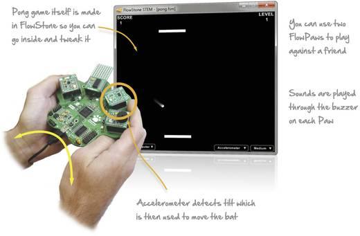 Labor kísérletező készlet mikrokontroller programozói környezethez