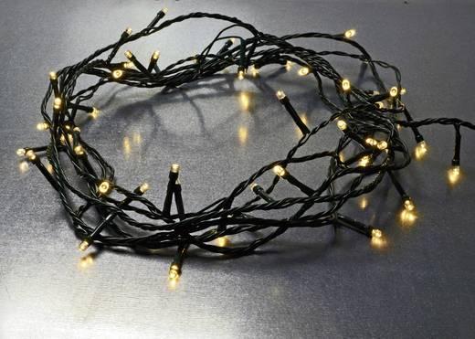 Beltéri karácsonyi fényfüzér, 100 melegfehér LED, 10 m, X4-Life
