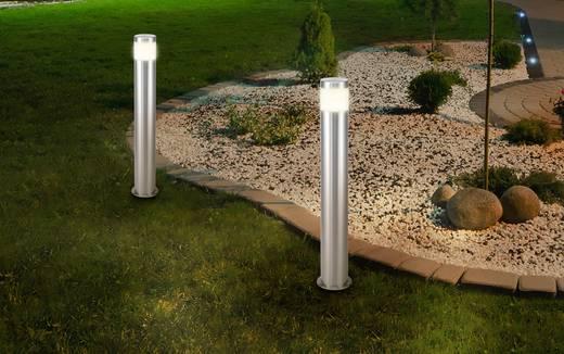 LED-es kültéri álló lámpa 10,5 W melegfehér, renkforce HY0002PSH-4/ 573c4 Riva rozsdamentes acél