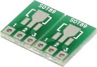 Kísérletező panel Epoxi (H x Sz) 12.06 mm x 7.62 mm 35 µm Raszterméret 2.54 mm TRU COMPONENTS SOT233-SOT89 1 db (1274809) TRU COMPONENTS