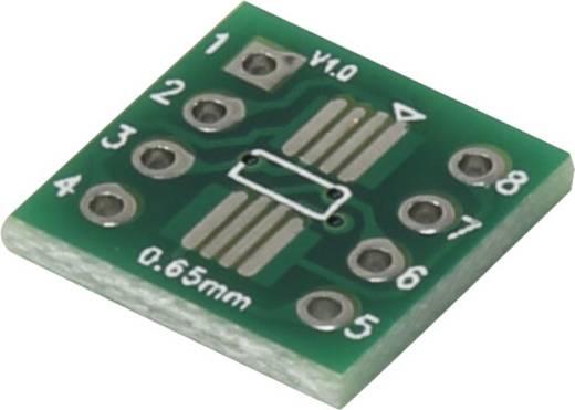 Epoxi kísérletező panel 12 12 mm 35 µm, raszter: 2,54 mm, Conrad SOP8