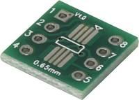 Kísérletező panel Epoxi (H x Sz) 12 mm x 12 mm 35 µm Raszterméret 2.54 mm TRU COMPONENTS SOP8 1 db (1274810) TRU COMPONENTS
