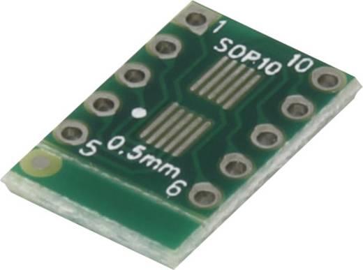 Epoxi kísérletező panel 12.5 10.3 mm 35 µm, raszter: 2,54 mm, Conrad SOP10-SOT23