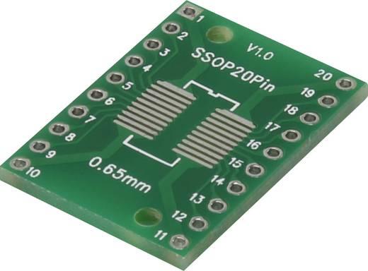 Epoxi kísérletező panel 25.4 17.8 mm 35 µm, raszter: 2,54 mm, Conrad SSOP20P