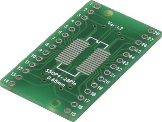 Epoxi kísérletező panel 35.46 20.32 mm 35 µm, raszter: 2,54 mm, Conrad SOP4-28P-SSOP4-28P