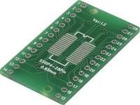Kísérletező panel Epoxi (H x Sz) 35.46 mm x 20.32 mm 35 µm Raszterméret 2.54 mm TRU COMPONENTS SOP4-28P-SSOP4-28P 1 db TRU COMPONENTS