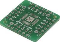 Epoxi kísérletező panel 25.40 25.40 mm 35 µm, raszter: 2,54 mm, Tru Components QFN44-QFN48 (1274821) Conrad Components