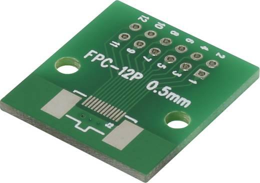 Epoxi kísérletező panel 46.10 26.10 mm 35 µm, raszter: 2,54 mm, Conrad FPC12P