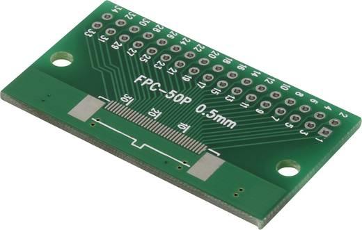 Epoxi kísérletező panel 54.80 26.40 mm 35 µm, raszter: 2,54 mm, Conrad FPC34P-50P