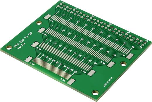 Epoxi kísérletező panel 37 35.6 mm 35 µm, raszter: 2,54 mm, Tru Components TSOP56-SOP56