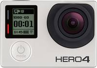 GoPro HERO 4 Silver Akciókamera Vízálló , Érintőkijelző, WLAN GoPro