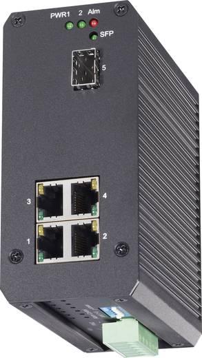 Switch kalapsínes szereléshez 5 port 1000 Mbit/s, Renkforce