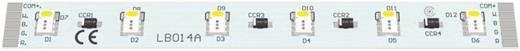 LED modul RGB/fehér 2,88 W 92 lm 120 ° 24 V, Barthelme 50751036