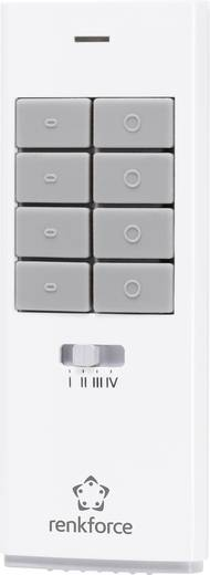 12 csatornás kézi távirányító, max. 150m, fehér, renkforce RS2W