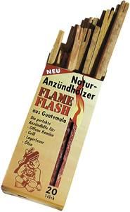 Natúr kemping tűzgyújtó fa, 20 részes készlet, Swissinno 1200115 Flame Flash Swissinno