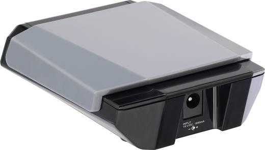 USB-s asztali töltő, dokkoló állomás, 4 kimenetes USB töltő max. 5400mA VOLTCRAFT SPAS-2400/4