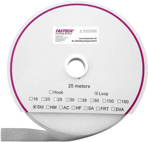 Tépőzár Felvarráshoz Horgos fél (H x Sz) 25000 mm x 16 mm Fehér Fastech T0101600000125 25 m