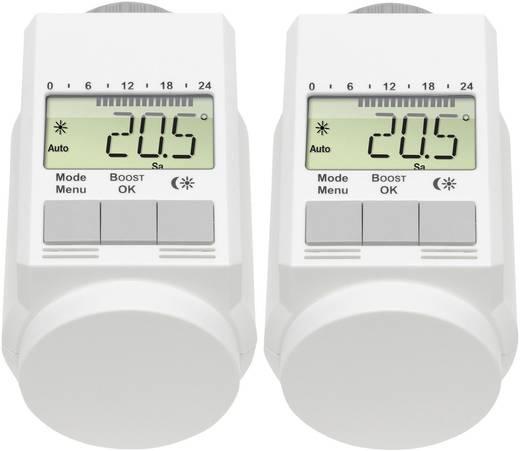 Fűtőtest termosztát készlet, 2 részes, 5 - 29.5 °C, eQ-3 L