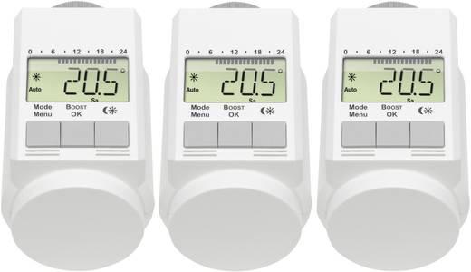 Fűtőtest termosztát készlet, 3 részes, 5 - 29.5 °C, eQ-3 L