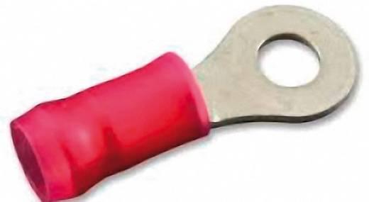 Gyűrűs kábelsaru 0.26 mm² 1.65 mm² M4 Részlegesen szigetelt Piros TE Connectivity 320554 1 db
