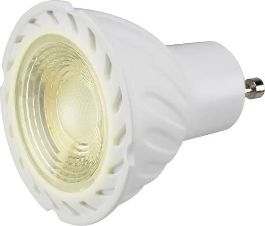 LED-es fényforrás, 230 V, GU10, 3.5 W = 15 W, melegfehér, Basetech