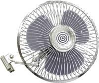 Autós ventilátor fém ráccsal, 12 V HP Autozubehör HP Autozubehör