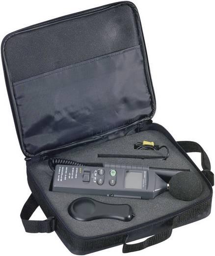 Környezetvédelmi mérőműszer, hőmérséklet, páratartalom, fény és zajszint mérő Voltcraft DT-8820