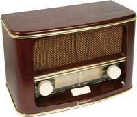 Asztali retro rádió, fa burkolattal Roadstar HRA-1500/N (HRA-1500N) Roadstar