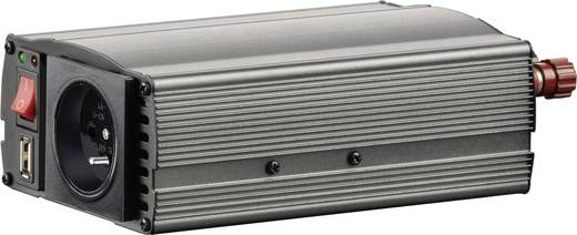 Szivargyújtós inverter, USB-vel Francia aljzattal 24 V/DC 21 - 30 V/DC 300W VOLTCRAFT MSW 300-24-F