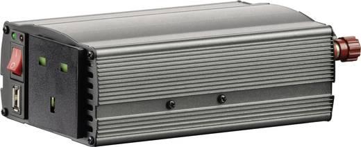 Szivargyújtós inverter, USB-vel Angol aljzattal 24 V/DC 21 - 30 V/DC 300W VOLTCRAFT MSW 300-24-UK