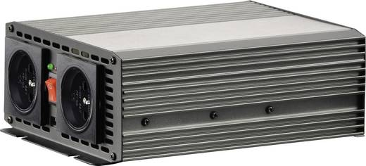 Szivargyújtós inverter, USB-vel Francia aljzattal 12 V/DC 10.5 - 15 V/DC 700W VOLTCRAFT MSW 700-12-F