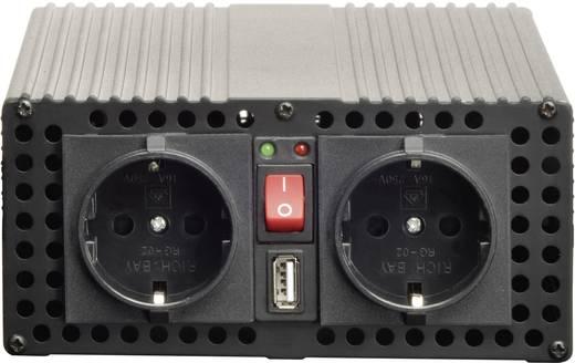 Inverter VOLTCRAFT MSW 1200-12-G USB 1200 W 12 V/DC 11.4 - 14.4 V csavaros csipeszek