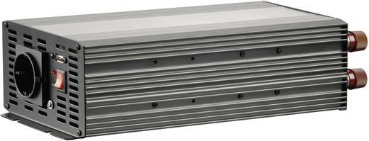 Inverter VOLTCRAFT MSW 2000-12-G USB 2000 W 12 V/DC 11.4 - 14.4 V csavaros csipeszek