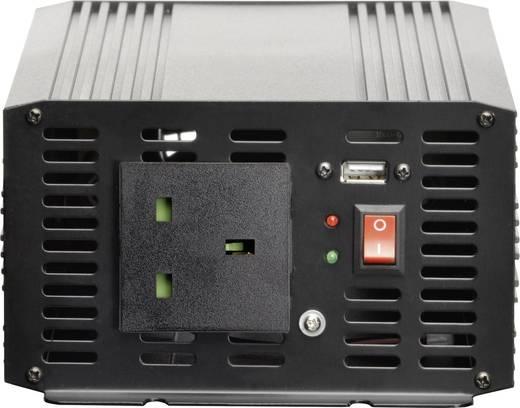 Szivargyújtós inverter, USB-vel Angol aljzattal 24 V/DC 21 - 30 V/DC 2000W VOLTCRAFT MSW 2000-24-UK
