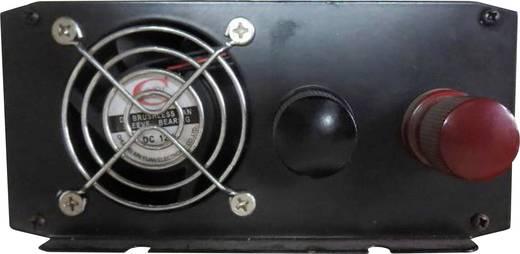 Szivargyújtós szinuszos inverter, USB-vel Francia aljzattal 12 V/DC 10.5 - 15 V/DC 1000W VOLTCRAFT PSW 1000-12-F