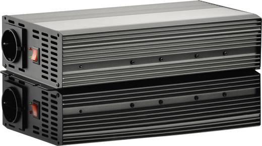 Szivargyújtós szinuszos inverter, autós feszültségátalakító, USB-vel 24 V/DC 21 - 30 V/DC 1000W VOLTCRAFT PSW 1000-24-G
