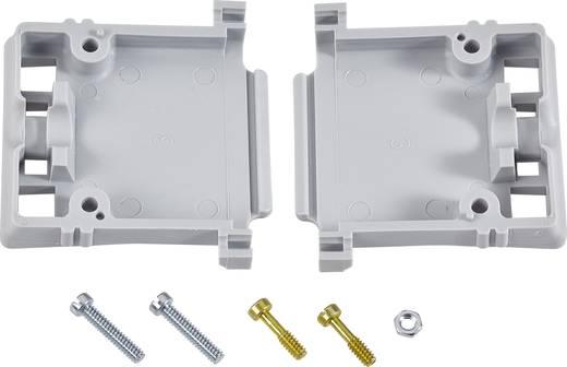 D-SUB ház, pólusszám: 15, termoplasztikus műanyag, 90 °/180 °, szürke, TE Connectivity AMPLIMITE HD-20 (HDP-20)