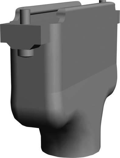 D-SUB ház, pólusszám: 9, műanyag, fémes, 180 °, ezüst, TE Connectivity AMPLIMITE HD-20 (HDP-20) 5745854-5