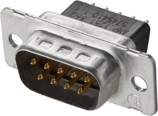 D-SUB tűs kapocsléc 180 °, pólusszám: 9 TE Connectivity AMPLIMITE HD-20 5745410-1