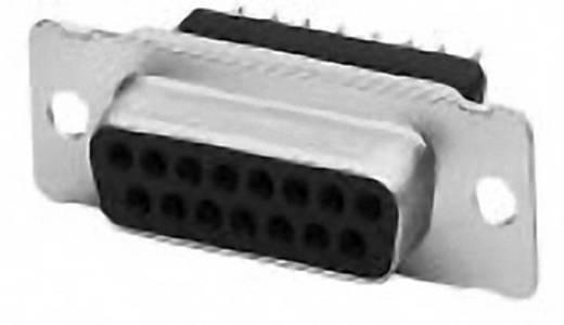 D-SUB hüvelyes kapocsléc, tűsor 180 °, pólus 25, nyákhoz, TE Connectivity AMPLIMITE HD-20