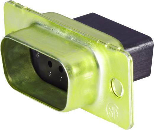 D-SUB tűs kapocsléc 180 °, pólusszám: 9 TE Connectivity AMPLIMITE HD-20 (HDP-20) 1658645-1