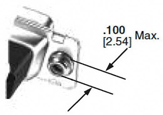 D-SUB tűs kapocsléc 180 °, pólusszám: 9, Belső menettel, 4-40 UNC TE Connectivity AMPLIMITE HD-20 (HDP-20)