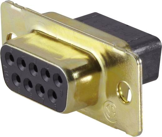D-SUB hüvelyes kapocsléc, hüvelysor, 180 °, pólusszám: 15 TE Connectivity AMPLIMITE HD-20 (HDP-20)